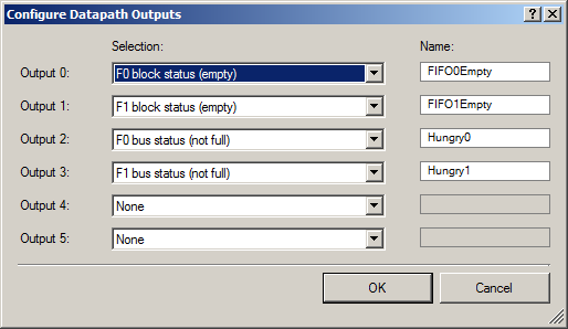 Configure Datapatch Outputs