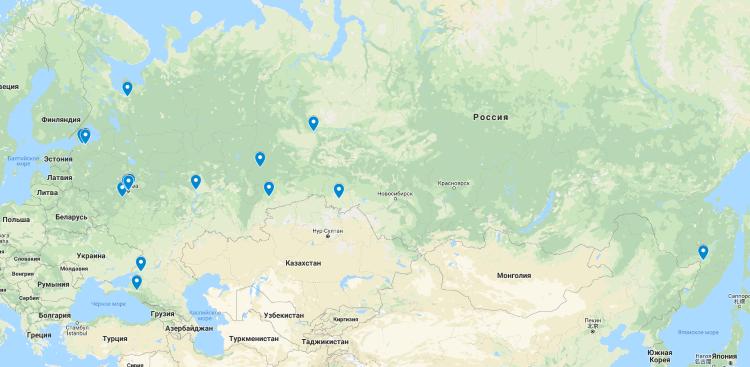 Спонсорами проекта выступило 34 человека из разных регионов России.