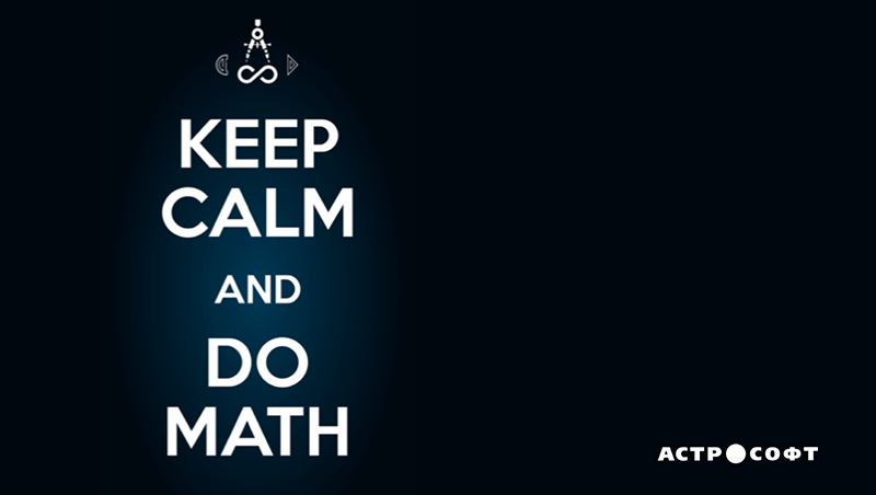 Keep calm and do math!